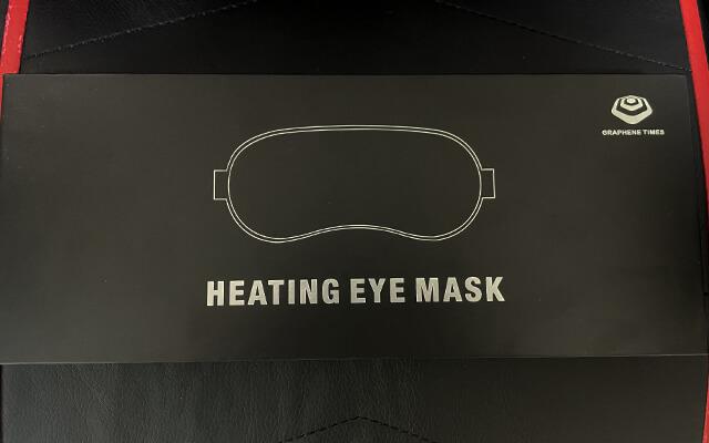 GRAPHENE TIMESのホットアイマスクのパッケージ